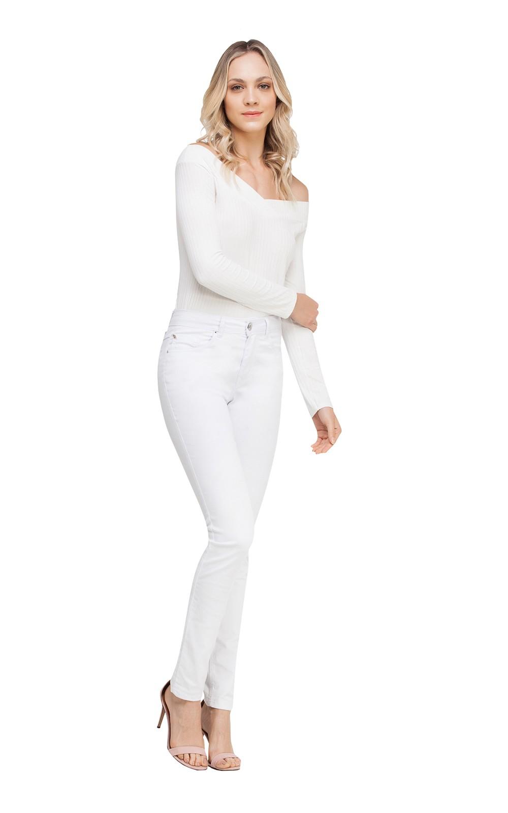 Calça Jeans Branca | Lez a Lez