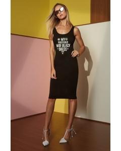 Vestido Midi Black | Charry