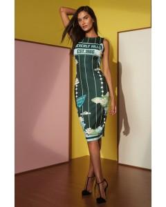 Vestido Midi Estampado | Charry