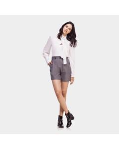 Shorts Tecido Cintura Alta | Lez a Lez